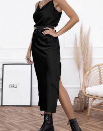 Дамска рокля в черно - код 6231