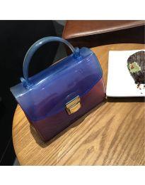 Дамска чанта в синьо - код B107