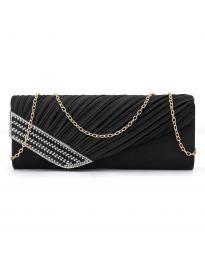 Стилна дамска чанта в черно - код B166