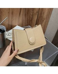 Елегантна дамска чанта в бежово - код B150