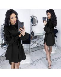 Елегантна рокля в черно - код 6364