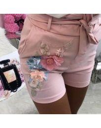Къси панталонки в розово - 329