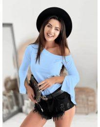 Дамска блуза в светлосиньо - код 8353