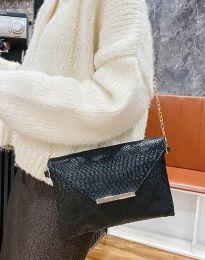 Дамска чанта с ефектен десен - код B351 - 3