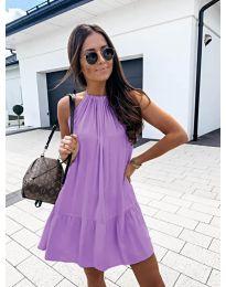 Феерична рокля в лилаво - код 632