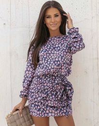 Ефектна дамска рокля - код 0361 - 3