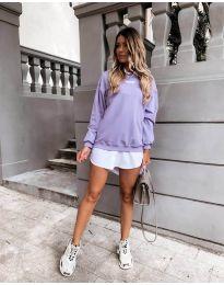 Дамска блуза в лилаво - код 5154