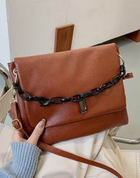 Дамска чанта в кафяво - код B352