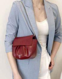 Дамска чанта в цвят бордо - код B449