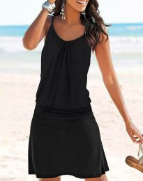 Дамска рокля в черно - код 91499