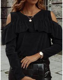 Дамска блуза в черно - код 4111