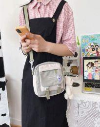 Ежедневна дамска чанта в сиво - код B576
