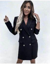 Дамска рокля в черно - код 5889