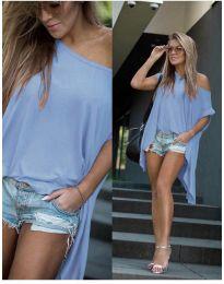 Дамска тениска в светло синьо - код 0909