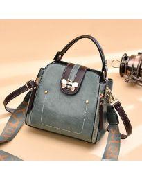 Дамска чанта в зелено- код B91