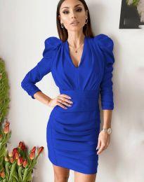 Дамска рокля в синьо - код 7937