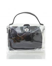 Дамска чанта в черно - код YF - D2025