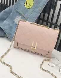 Атрактивна дамска чанта в розово - код B330