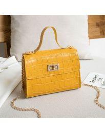 Дамска чанта в цвят горчица - код B97