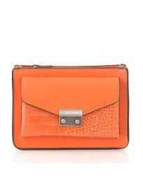 Дамска чанта в оранжево - код D8506