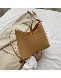Дамска чанта в цвят горчица - код B34/9795