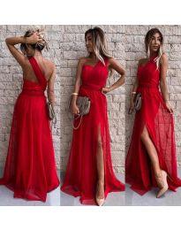 Дълга рокля в червено- код 2011