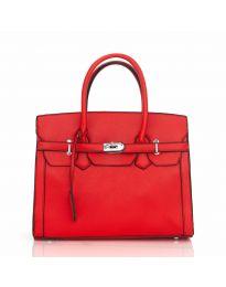 Дамска чанта в червено - LS586