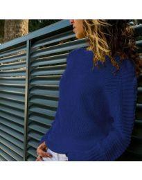 Дамска блуза в синьо - код 825