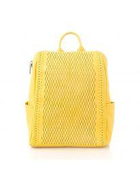 Дамска раница в жълто - код 5617