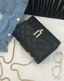 Атрактивна дамска чанта в черно - код B330