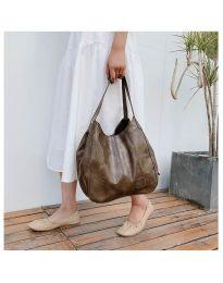 Дамска чанта в цвят капучино - код B5