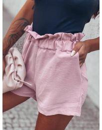 Къси панталонки в розово - код 4747