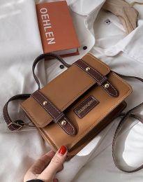 Дамска чанта в капучино - код B429