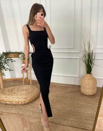 Дамска рокля в черно - код 1272