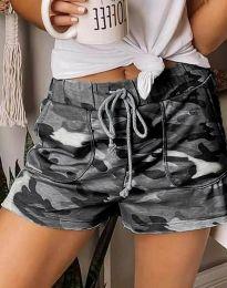 Къси панталонки в камуфлажен десен - код 0251 - 2