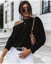 Дамска блуза в черно - код 5618