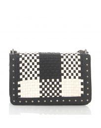 Дамска чанта в черно - код 92083