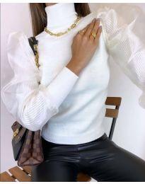 Дамска блуза в бяло - код 0780