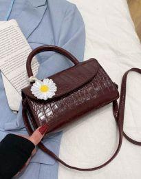 Дамска чанта в тъмнокафяво - код B435