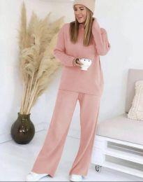 Дамски комплект в розово - код 9078