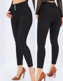 Дамски дънки в черно - код 5001