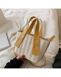 Атрактивна дамска чанта в бежово - код B530