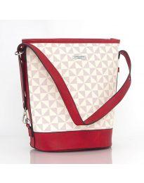 Дамска чанта в червено - JY6463