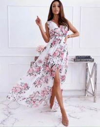 Дамска рокля с атрактивен десен - код 0570 - 4