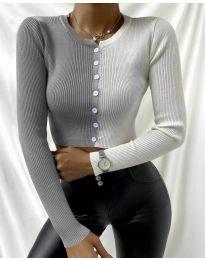 Екстравагантна дамска блуза - код 6366 - 5