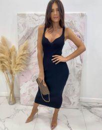Елегантна дамска рокля в черно - код 10033