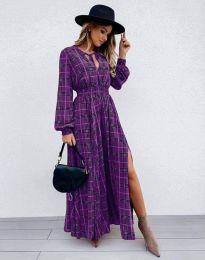 Ефектна дамска рокля - код 5194 - 3