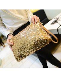 Дамска чанта в златисто - код B24