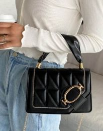 Дамска чанта в черно - код B445