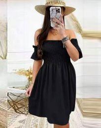 Дамска рокля в черно - код 1409